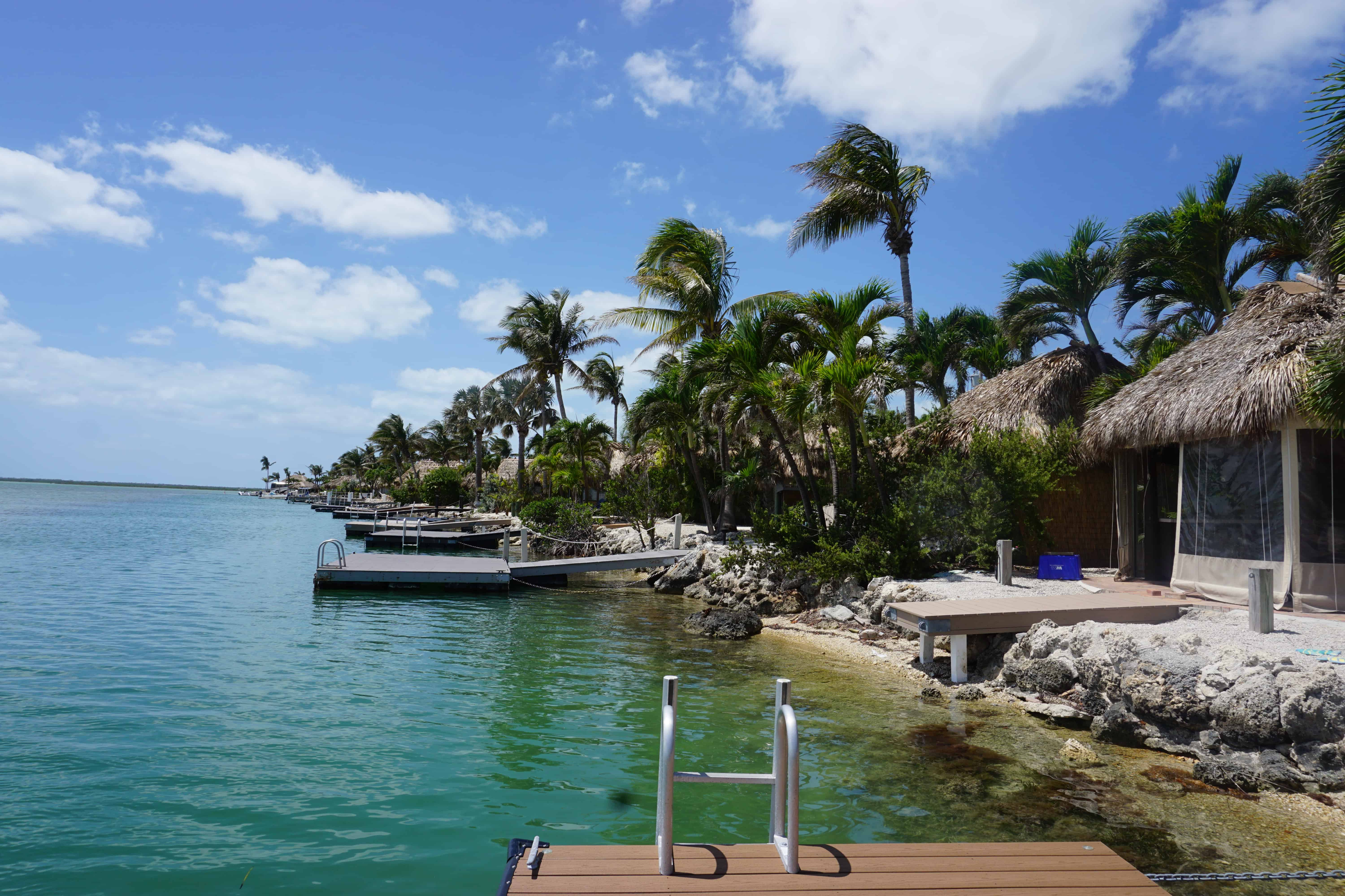 Staying in an RV in Key West at the Bluewater Key RV Resort