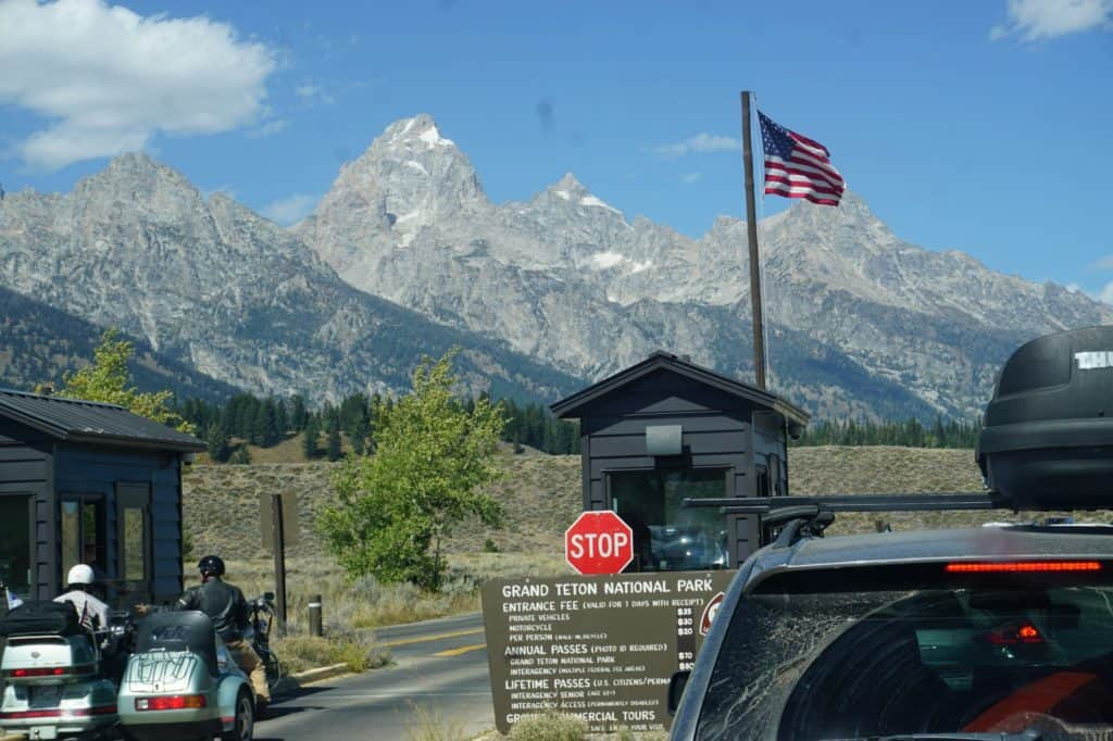Grand Teton National Park Recreational Vehicle Rv Camping For Free Rv Hive