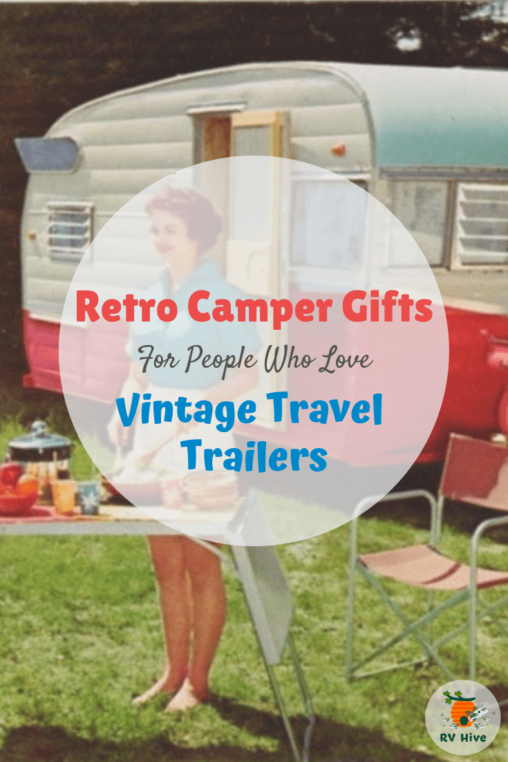 If you're looking for the perfect gift for people who love vintage and retro campers, whether or not they own a retro trailer, or just dream of escaping ...