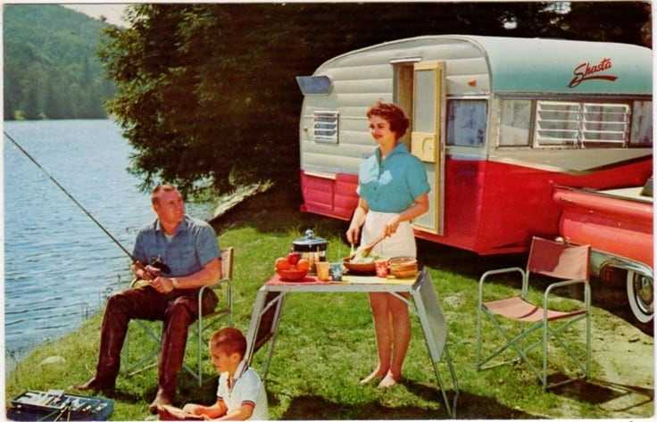 Retro Camper Gifts For People Who Love