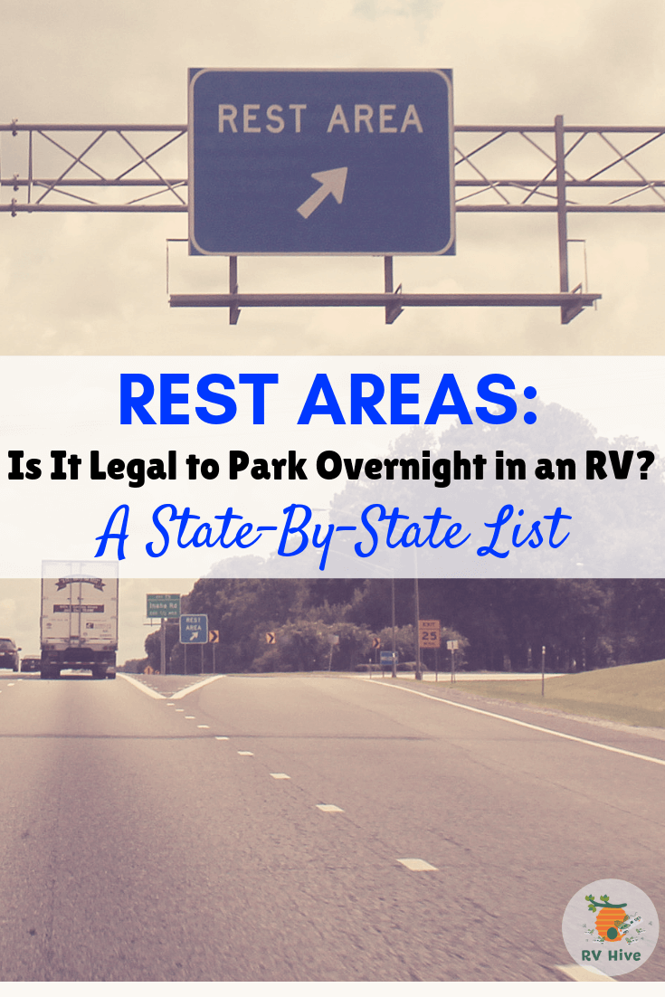 Map Of Georgia Rest Areas.Rest Areas Is It Legal To Park Overnight In An Rv A State By
