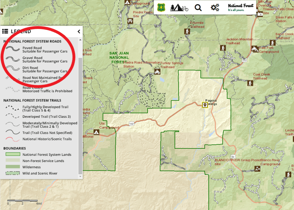 RV Boondocking Guide for the US National Forests: A Tutorial to Find ...