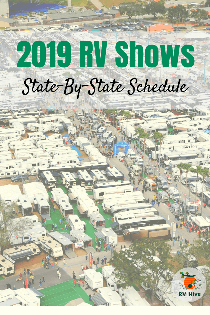 2019 RV Shows: State-By-State Schedule - RV Hive