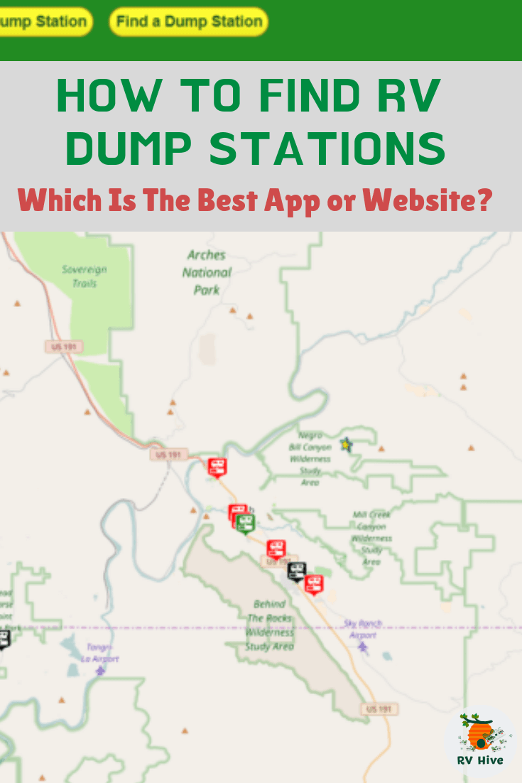 How To Find RV Dump Stations: Which is the Best App or