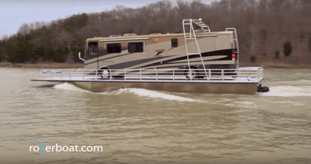All Aboard the Rollerboat! Now You Can Turn Your Motorhome into a