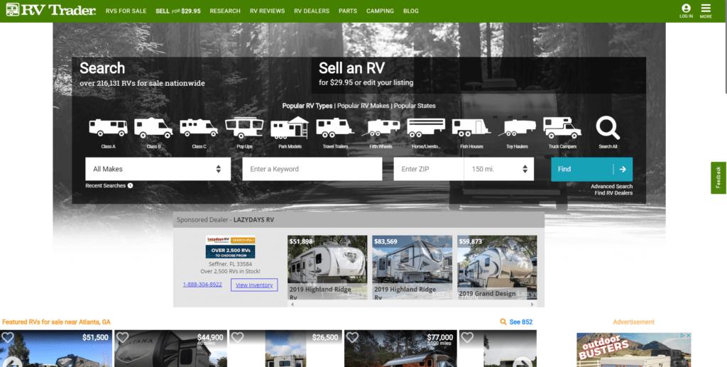 Rv Trader Online >> How We Got The Best Price On Our New Rv Follow This Step By